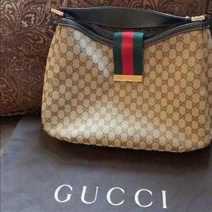 Gucci Large Web Hobo